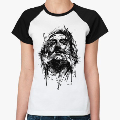 Женская футболка реглан Сальвадор Дали