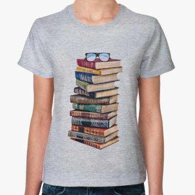Женская футболка Ученье свет