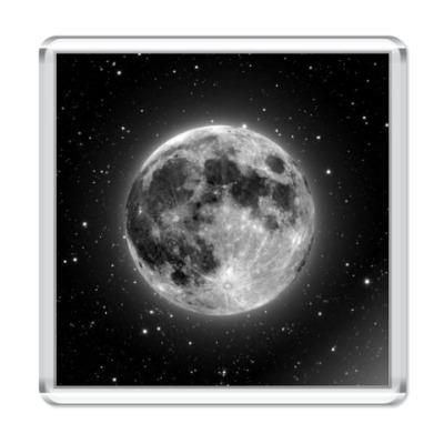 Магнит Обсидиановая луна