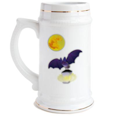 Пивная кружка BatLight