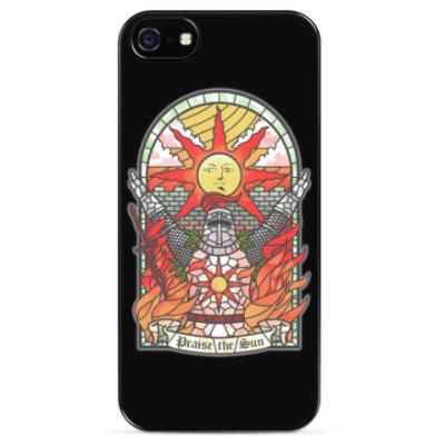 Чехол для iPhone Dark Souls Praise the sun