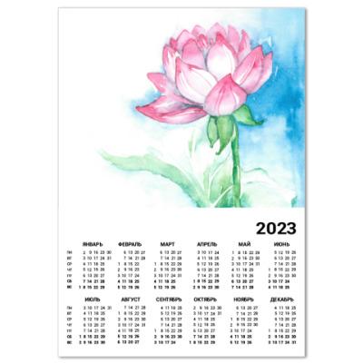 Календарь Лотос