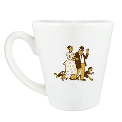 Чашка Латте Прогулка