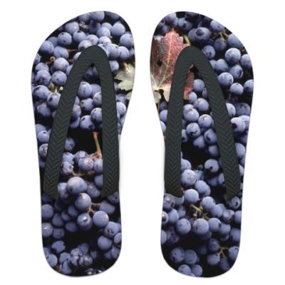 Шлепанцы (сланцы) Виноград