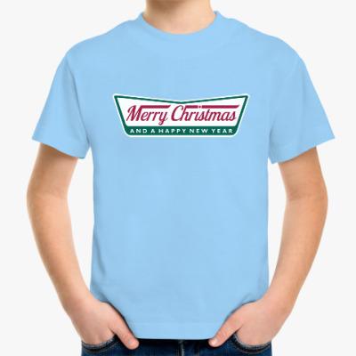 Детская футболка Счастливого Нового года