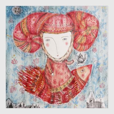 Постер Принцесса летит на чаепитие
