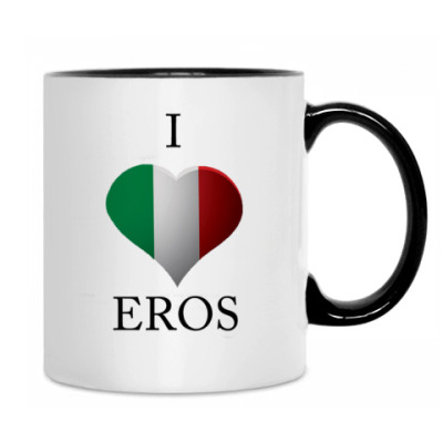 Кружка Я люблю Эроса :)