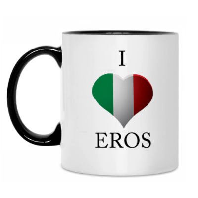 Кружка Кружка Я люблю Эроса :)
