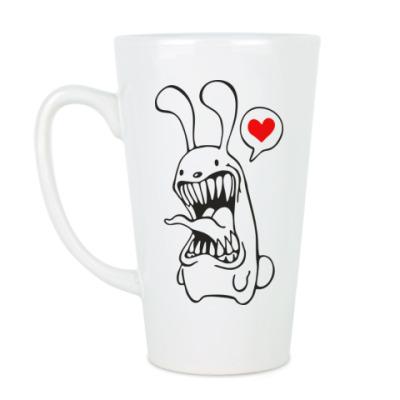 Чашка Латте Белый Кролик