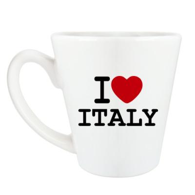 Чашка Латте I Love Italy