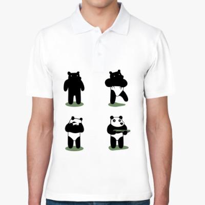 Рубашка поло Ограбление по-пандовски