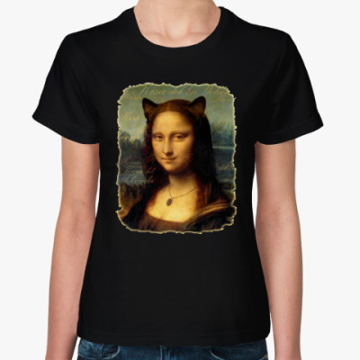 Женская футболка Mona Kisa (Мона Киса)