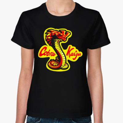Женская футболка Кобра Кайдзю