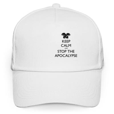 Кепка бейсболка Stop the apocalypse