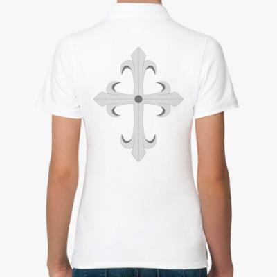 Женская рубашка поло Королевская лилия