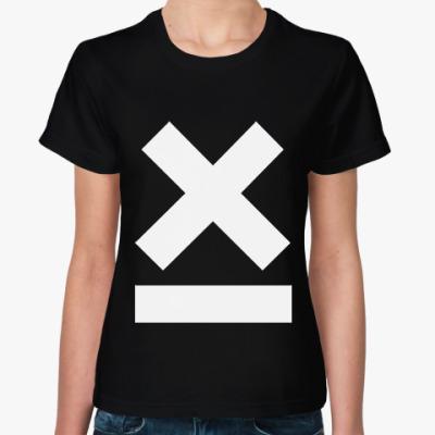 Женская футболка X