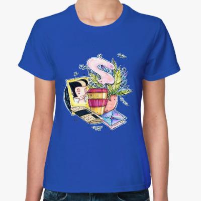 Женская футболка Элвис