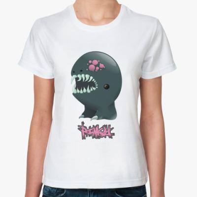 Классическая футболка  Pinky