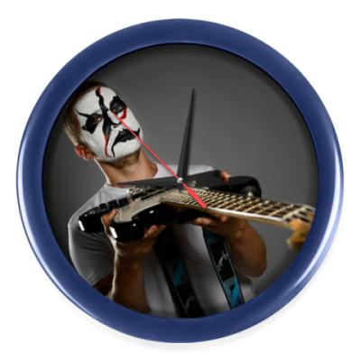 Настенные часы Часы, темно-синие (без цифр)