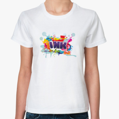 Классическая футболка Ink