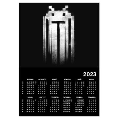 Календарь Space Invaders Punisher