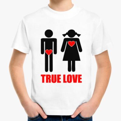 Детская футболка 'True Love'
