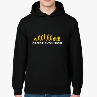 Толстовка худи Эволюция геймера