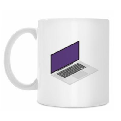 Кружка Ноутбук. Laptop