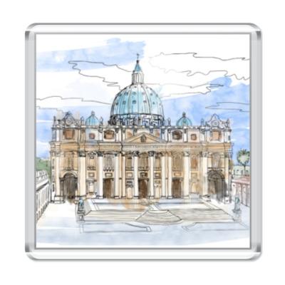 Магнит Ватикан - Собор Святого Петра