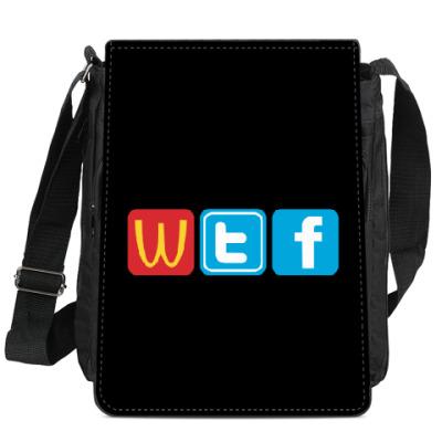 Сумка-планшет WTF
