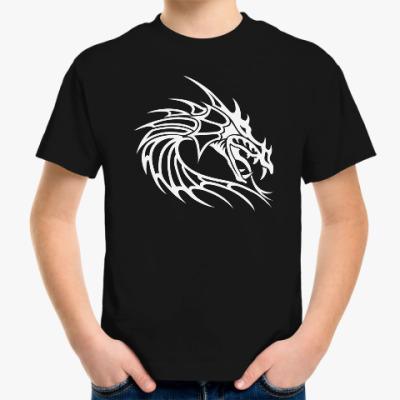 Детская футболка Древний дракон