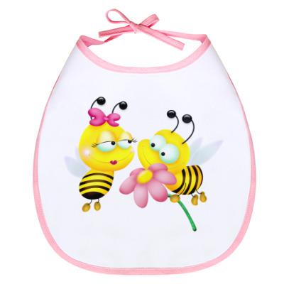 Слюнявчик Пчелки