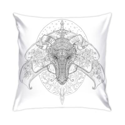 Подушка Дракон