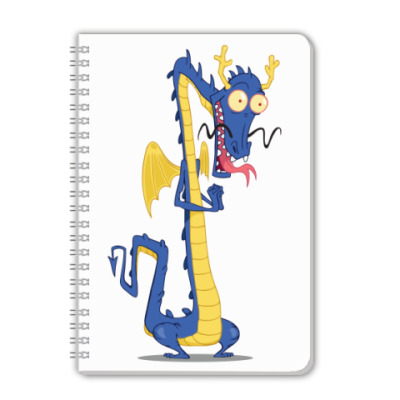 Тетрадь Восточный дракон