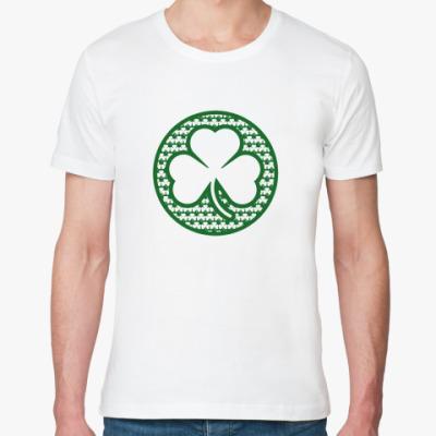 Футболка из органик-хлопка irish shamrock
