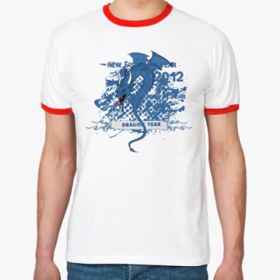 Футболка Ringer-T Fashion Dragon