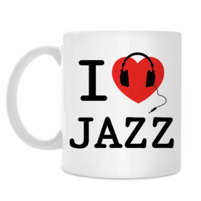 Кружка I Love Jazz