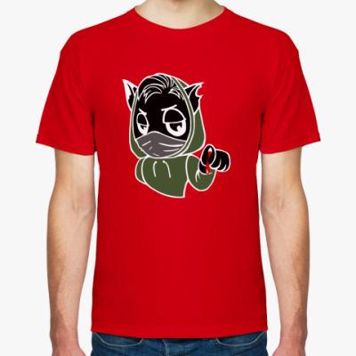 Футболка Черный кот ассасин