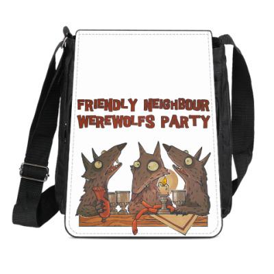 Сумка-планшет Вечеринка обортней