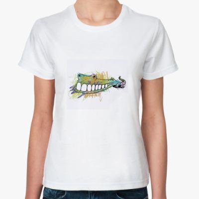 Классическая футболка  - кроко
