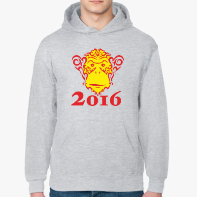 Толстовка худи Год обезьяны 2016