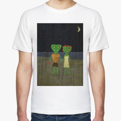Футболка инопланетяне-романтики