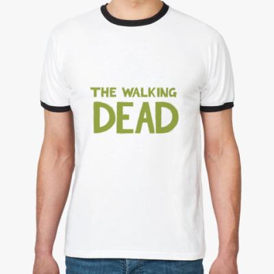 Футболка Ringer-T the walking dead