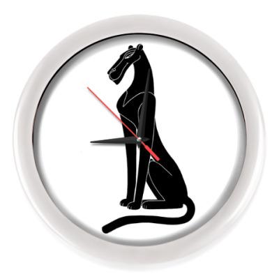 Настенные часы Пантера