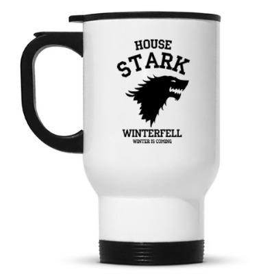 Кружка-термос Дом Старков  Game of Thrones
