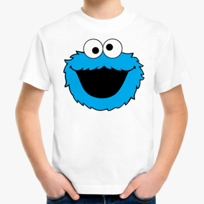 Детская футболка Cookie Monster face