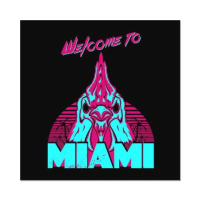Наклейка (стикер) Hotline Miami - Richard