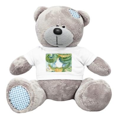 Плюшевый мишка Тедди Девочка. Смешулька.