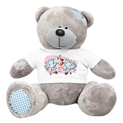 Плюшевый мишка Тедди Голуби любви