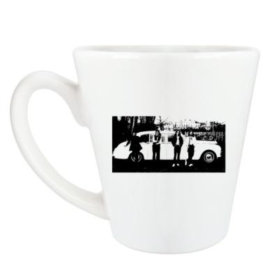 Чашка Латте The Beatles